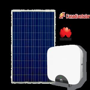Kit Fotovoltaico (Huawei + Canadian) da 2 3 4 5 kW