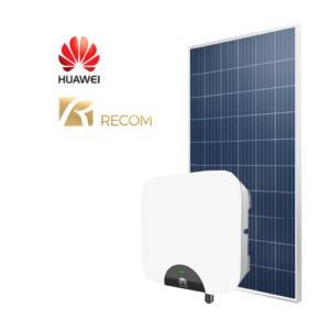 Kit Fotovoltaico (Huawei + Recom) da 3 4 6 kW