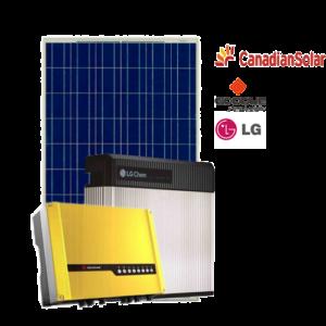 Kit di Accumulo (Goodwe + LG Chem + Canadian) da 3 kW