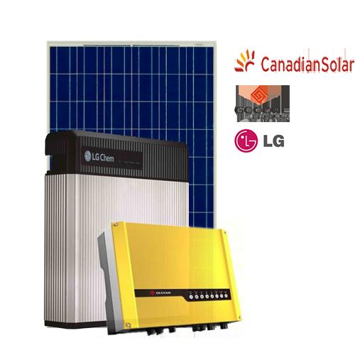 Kit di Accumulo (Goodwe + LG Chem + Canadian) da 5 kW
