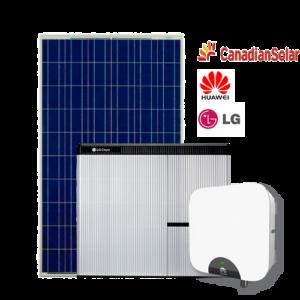 Kit di Accumulo (Huawei + LG Chem + Canadian) da 3 kW