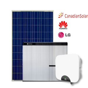 Kit di Accumulo (Huawei + LG Chem + Canadian) da 5 kW