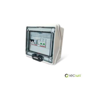 Quadro Elettrico in Alternata AC Fotovoltaico SecSun