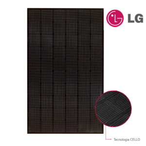 Modulo Monocristallino LG Solar NEON2 A5 320NK1 Total Black
