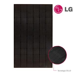 Modulo Monocristallino LG Solar NEON2 A5 320NK1 Total Black