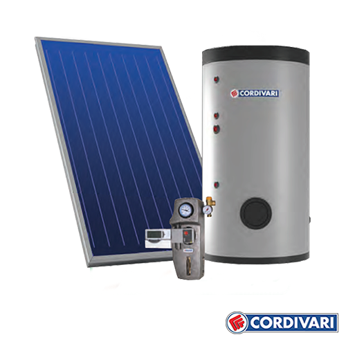 Sistema Termico Solare a Circolazione Forzata ECOBASIC