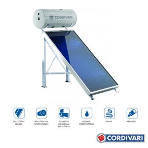 Sistema Termico Solare a Circolazione Naturale Panarea